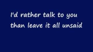 Krezip - All unsaid lyrics