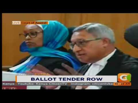Ballot Tender Row #CitizenExtra