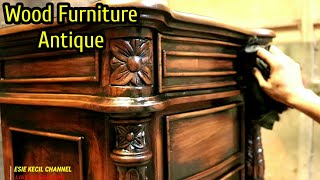 Create An Antique Finishing Wood Furniture Jepara