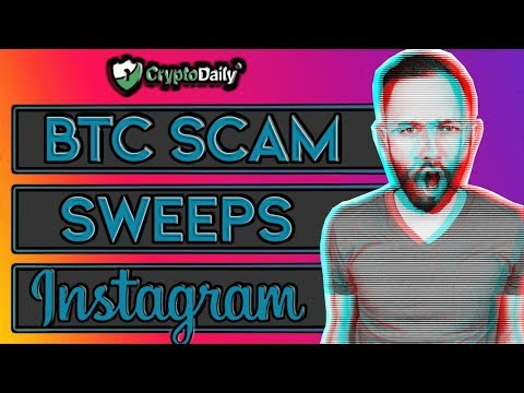 New Bitcoin Scam Sweeps Instagram