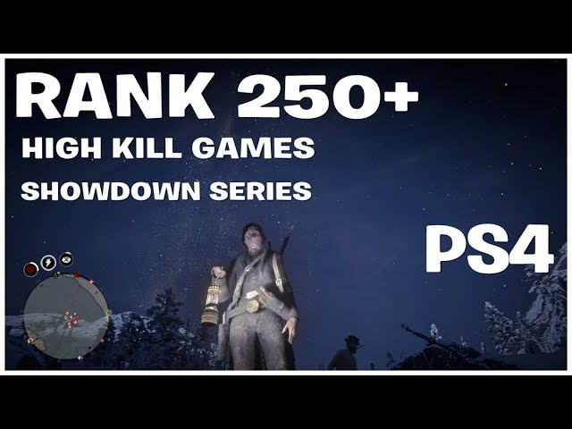 RANK 292 RED DEAD REDEMPTION 2 ONLINE  $$$ PVP SHOWDOWN SERIES  $$$ UPDATE SOON