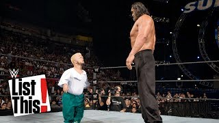 Download 5 Biggest mismatches in WWE history: WWE List This! Mp3 and Videos
