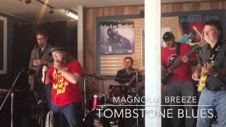 11 year old Magnolia rocks the house on Tombstone Blues