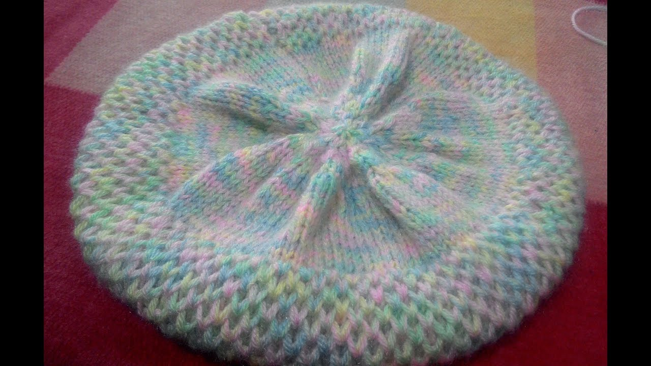 Knitting Topi Baby : Knitting hindi topi cap part youtube