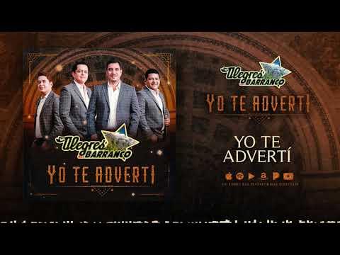 Los Alegres Del Barranco - Yo Te Adverti (Audio Oficial)