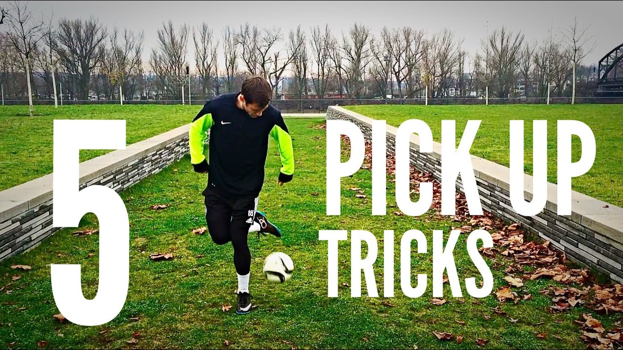 5 Pick Up Tricks Every Football Soccer Freestyler Should Know