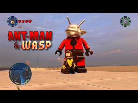 LEGO Marvel's Avengers - Wasp Gameplay and Unlock Location