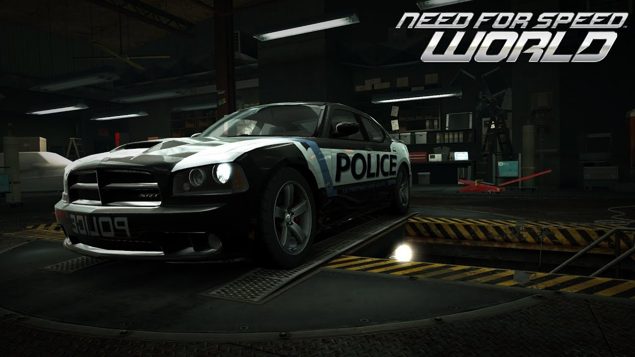 Crown Vic Car Wallpaper Need For Speed World Dodge Charger Srt 8 World Cops Heat