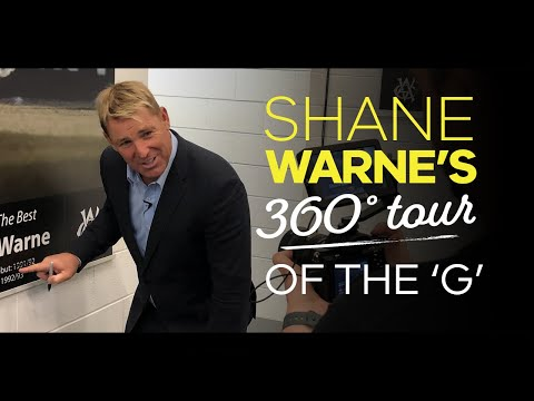 360 Tour Of The MCG With Shane Warne