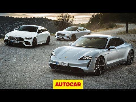Porsche Taycan Turbo S V Polestar 1 V Mercedes-AMG GT 63 S 4dr | Autocar
