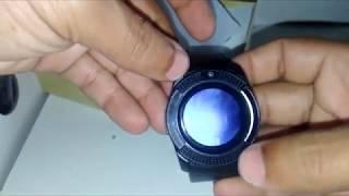 Relógio Smartwhatch V8 Inteligente Bluetooth Com Câmera Chip Cartão