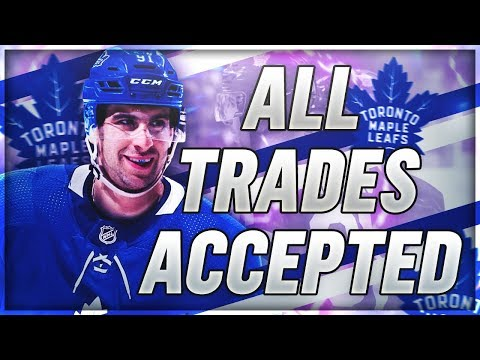 ACCEPTING ALL TRADES with the TORONTO MAPLE LEAFS | NHL 19 Franchise Mode Challenge