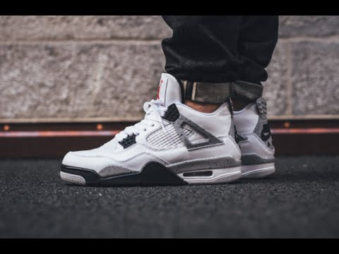 sale retailer 44c58 491df Nike Air Jordan 4 OG White Cement 2016   Honest Review + On Feet