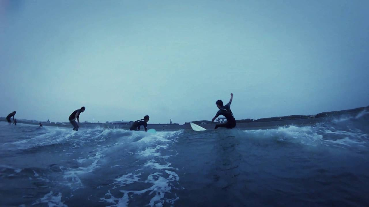 Surf In The Rain Gopro Session 4