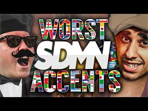 THE SIDEMEN ARE VERY BAD AT ACCENTS...