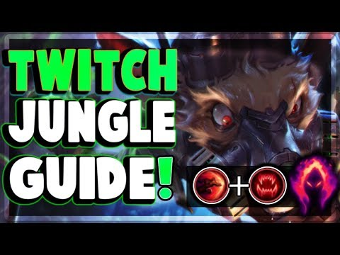 TWITCH JUNGLE GUIDE | Svenska| SEASON 8 DARK HARVEST !! | HeyZReD