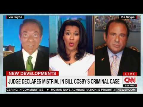 Richard Herman CNN 6/17 BILL COSBY HUNG JURY - Expect same if re-trial.  Political Prosecution