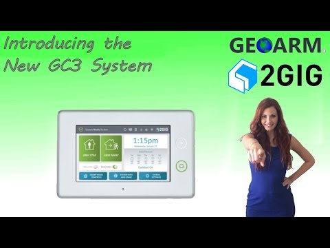 2GIG GC3 - Introduction to the New Wireless Security System