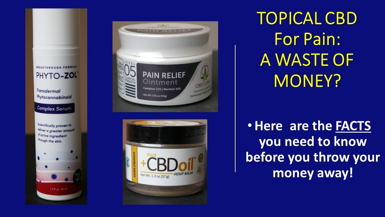 Download Topical CBD for Pain: Does it Even Work?