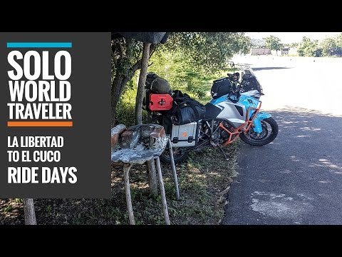 Ride Day 30: La Libertad to El Cuco, El Salvador