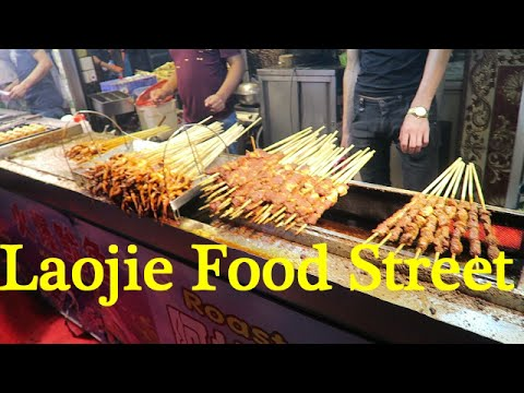 Walking around at Dongmen Food Street at Laojie Station  in Shenzhen