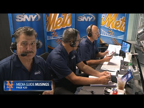 WATCH: SNY booth reads Mets media guide during 25-4 blow out