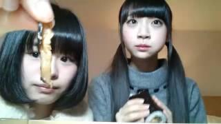 2017/2/3 19:18~ NGT48 チームNⅢ 高倉萌香のSHOWROOM配信 荻野由佳と節...