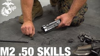 How to Assemble and Disassemble an M2 .50 Cal Machine Gun   Marine Infantry Knowledge