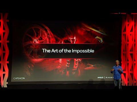 AMD Capsaicin SIGGRAPH 2016 press release