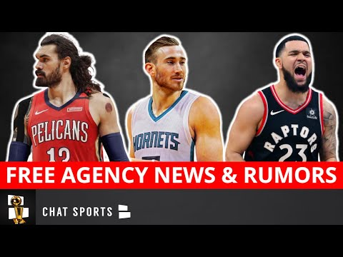 NBA Free Agency News On Gordon Hayward & Fred VanVleet + Trade Rumors On Steven Adams & John Wall