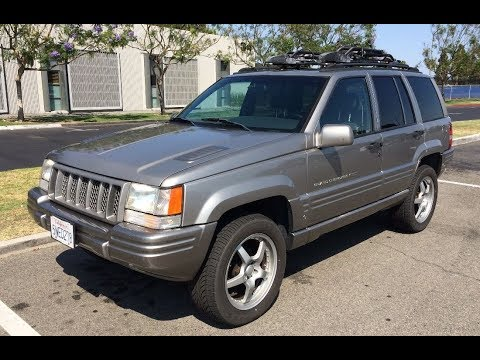 Modified 1998 Jeep Grand Cherokee 5.9 Limited - One Take