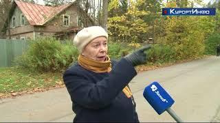 Жители посёлка Комарово требуют вернуть им переезд через железную дорогу