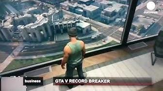 GTA 5  :  600Mio. € / 800Mio. US-Dollar umsatz am ersten Tag ! News !