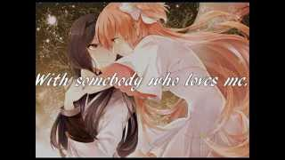 I Wanna Dance With Somebody (Who Loves Me) w/ Lyrics [NIGHTCORE]