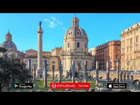 Trajan's Forum – Column – Rome – Audio Guide – MyWoWo  Travel App