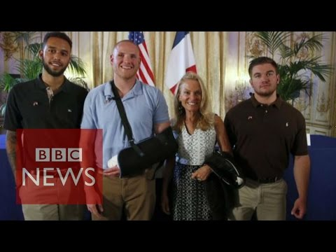 France Train Shooting: US 'heroes' Speak Out - BBC News