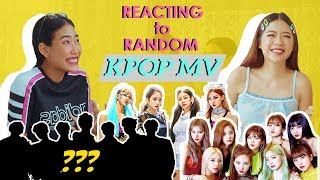 REACTING To RANDOM KPOP MV