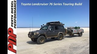 pdp toyota landcruiser 76 series v8 wagon touring build