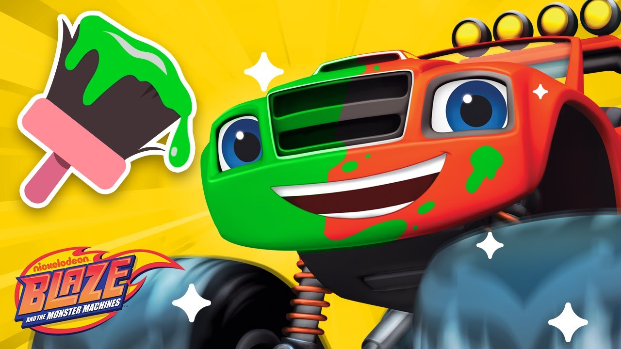 Makeover Machines #4 w/ Blaze! | Games for Kids | Blaze and the Monster Machines