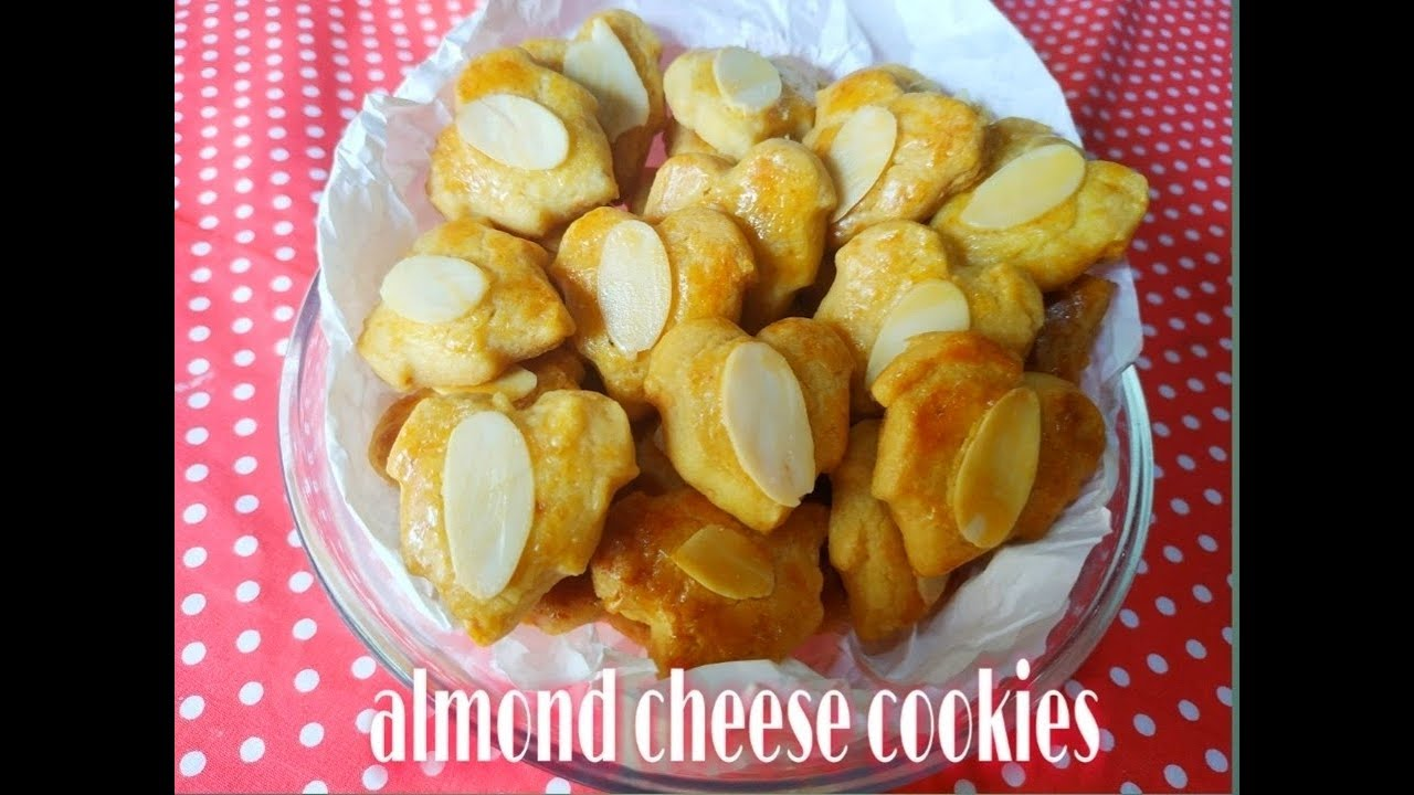 Resep Kue Kering Almond Almond Cheese Cookies Tips Kue Kering Youtube