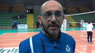12-03-2017: #A2MVolley - Michele Totire nel post Materdomini - Club Italia 3-1