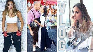 VLOG - Oktoberfest - Meine Familie - Kraftsport - Lieblingsessen - Klimmzug Challenge