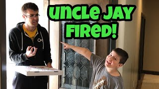 Kid Temper Tantrum Got Uncle Jay Fired From Pizza Delivery Job! [Original]
