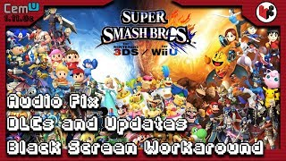 SOUND FIX AND MORE!! | Super Smash Bros Bugs and Fixes [CEMU 1.11.0c]