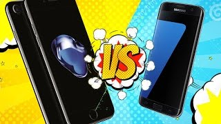 Сравнение скорости iPhone 7 и Samsung Galaxy S7! Какая семерка лучше?