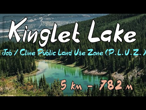 Overnight backpack hike to Kinglet Lake