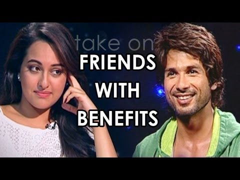 Sonakshi Sinha, Shahid Kapoor, Imran Khan & Ajay Devgn talk about Friends with Benefits