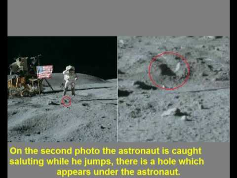 Evidence on fake photos in mission Apollo 16: Part 1 - YouTube
