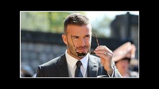 David Beckham erhält die Auszeichnung des UEFA-Präsidenten |