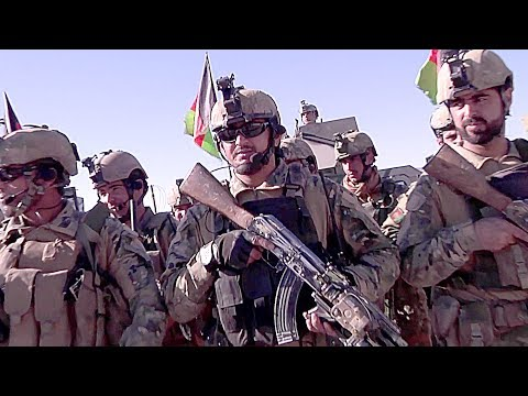 Afghan's Elite Special Forces: Afghan National Army Commando Force 333 Ground Assault Force Demo
